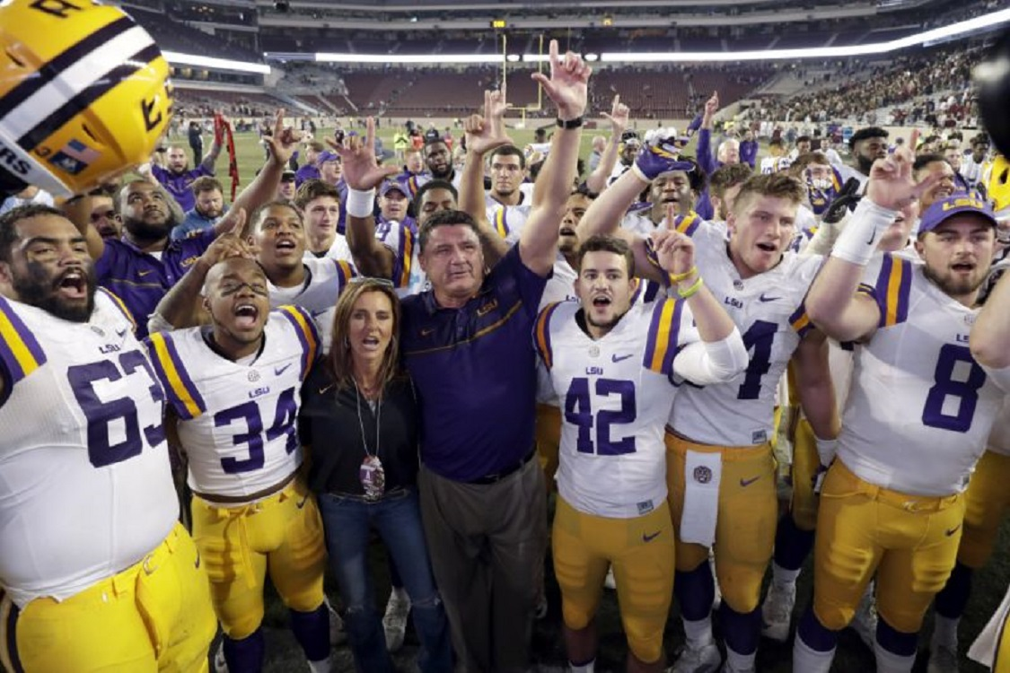 Jeff: Louisiana native Ed Orgeron the new head coach at LSU