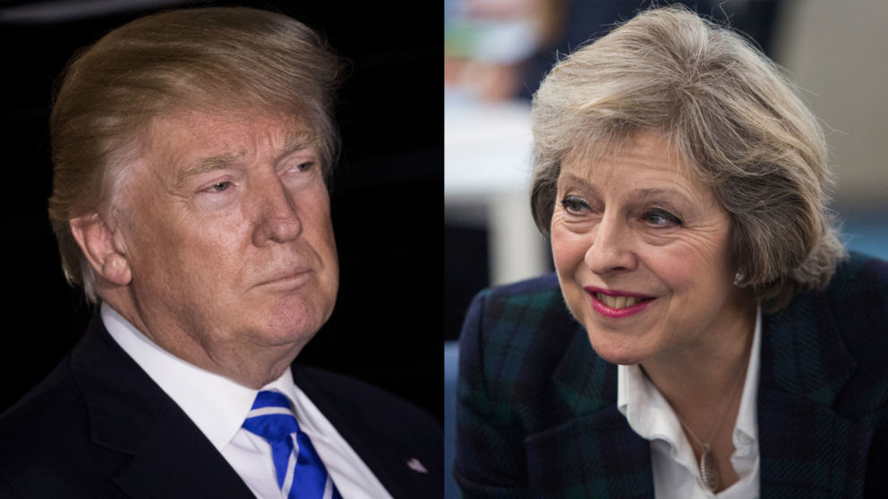 UK's May to visit Trump in weeks following inauguration