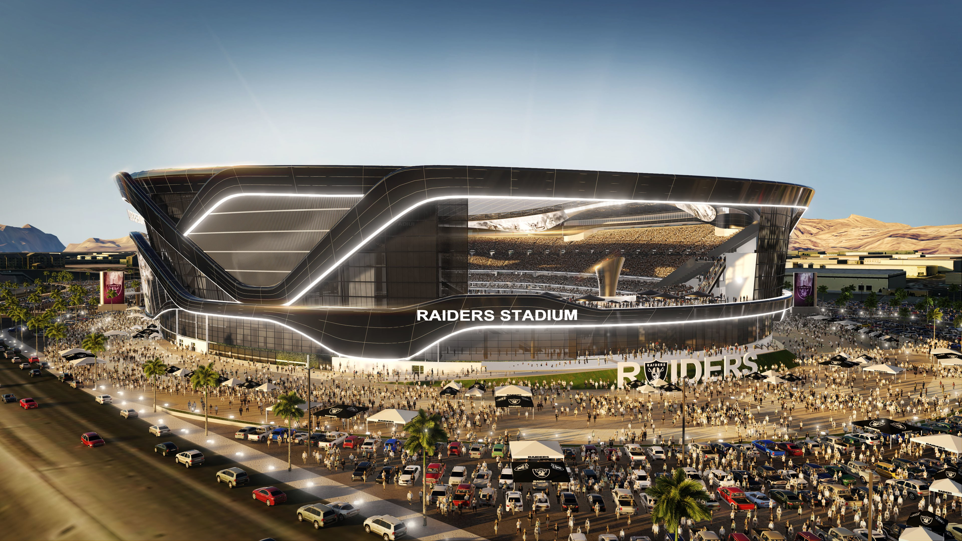 Raiders Close On Land For Las Vegas Stadium
