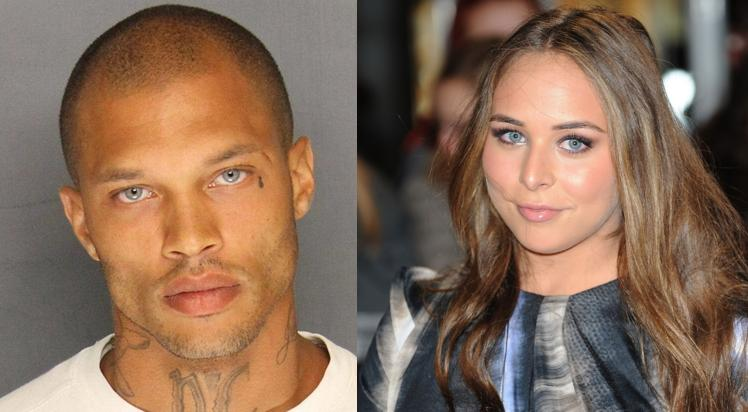Jeremy Meeks & Really Rich Girlfriend Spotted Hangin' in Hollywood